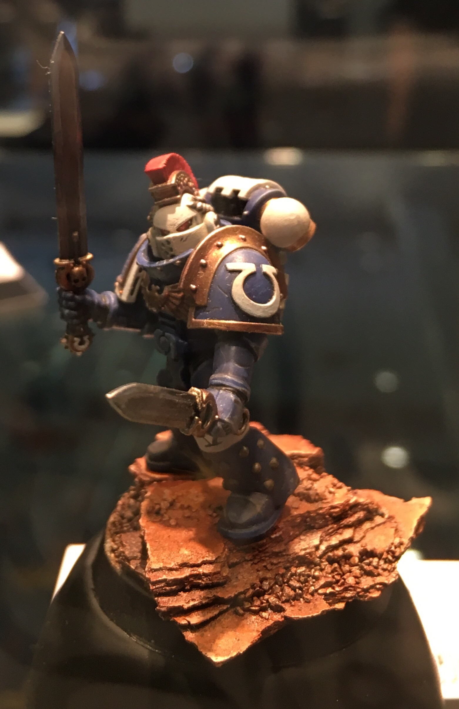 Ultramarine Chapter Champion Golden Demon 2017