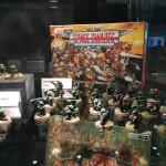 40k 30th Anniversary display at Warhammer Fest